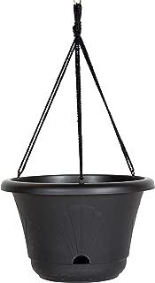 Bloem 010237, Black Lucca Self Watering Hanging Basket, 13
