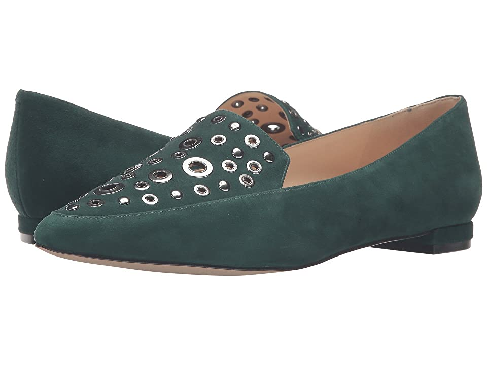 Nine West Akeelah (Dark Green Suede) Women