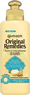 Garnier Original Remedies Elixir de Argán Aceite en crema protector sin aclarado sin silicona para un pelo muy seco y sin ...