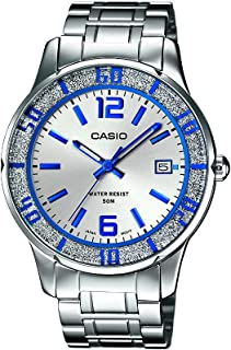 Casio Enticer Analog Silver Dial Women's Watch - LTP-1359D-7AVDF (A810)
