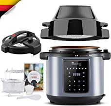 MICHELANGELO 6 QT Pressure Cooker Air Fryer Combo, All-in-1 Pressure Cooker with Air..