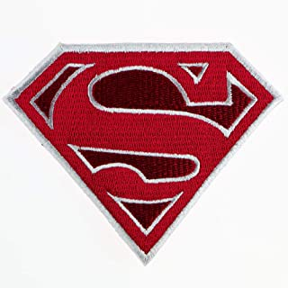 Superman Movie Logo Embroidered Military Patch Vest Jacket Emblem Sew Iron on Patch