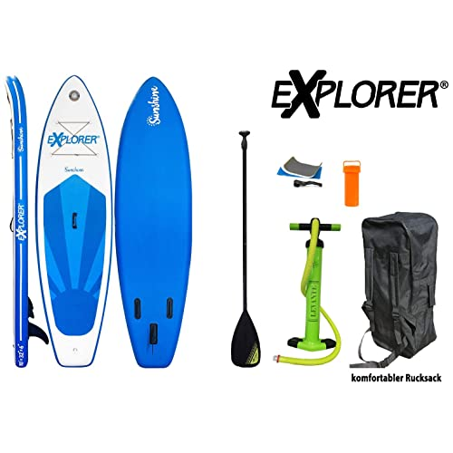 EXPLORER Sunshine Sup Inflatable Stand Up Paddle Surf Board ...