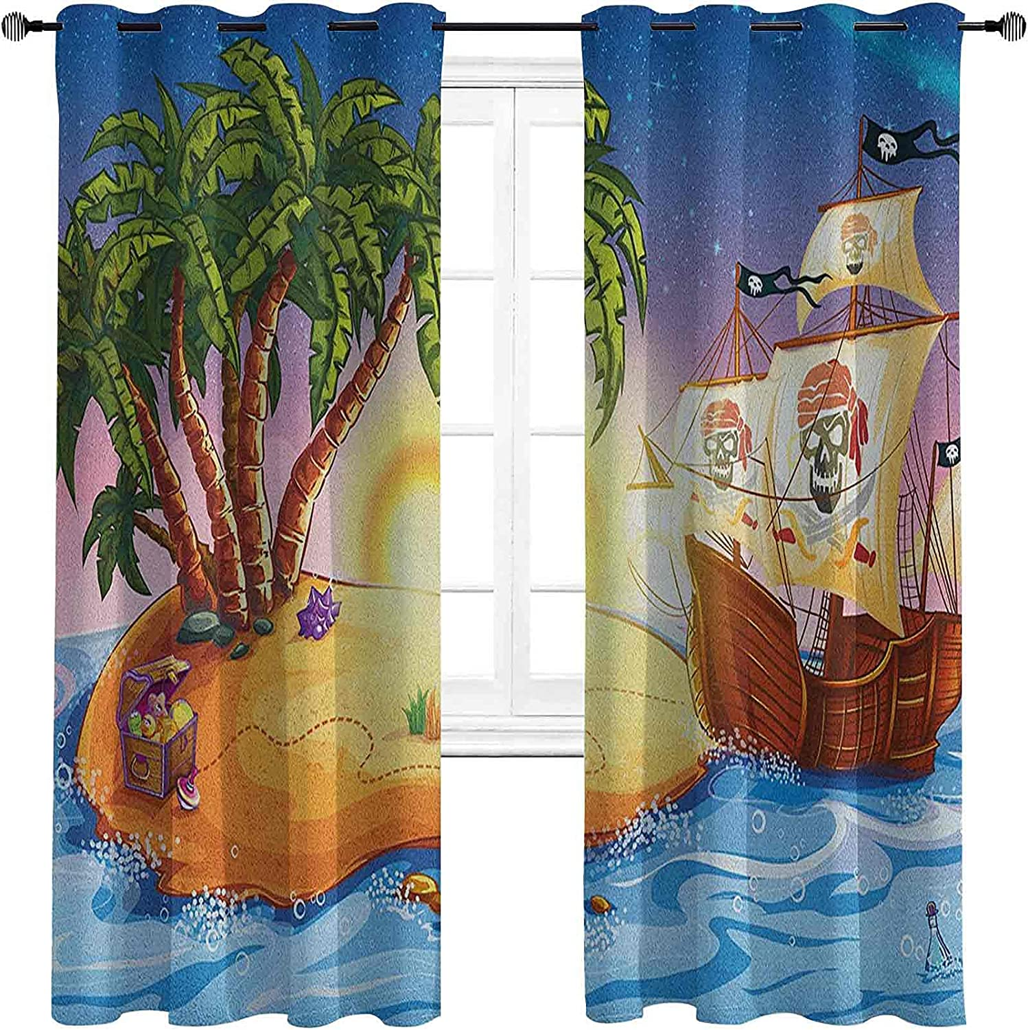 Pirate Ship Shading Insulated security Ranking TOP11 Curtain Ghost on Exotic Sea