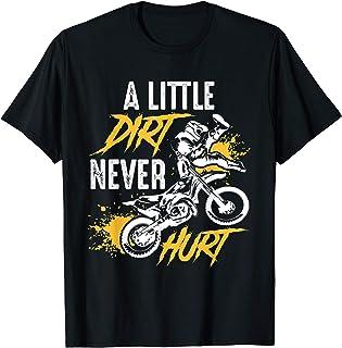 هدیه دوچرخه خنک جالب برای پسران و دختران - تی شرت Motocross