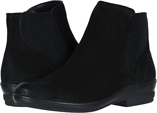 Black Brushed Nubuck