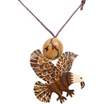 Chichester Inc Tagua Nut Necklace Bear