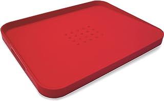 Joseph&Joseph JJ152 Antideslizante, Tabla de Cortar de múltiples Funciones roja