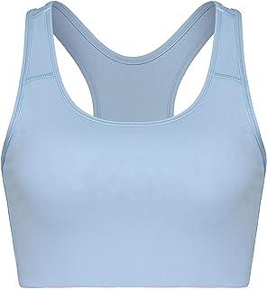 Women's Seamless Workout Gym Activewear Bra High Impact Racerback Sports Bras
