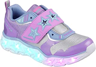 Skechers Kids' Galaxy Lights-Cosmic Kick Sneaker