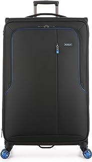 Antler - Clarendon 82cm Large 4 Wheel Soft Suitcase - Black