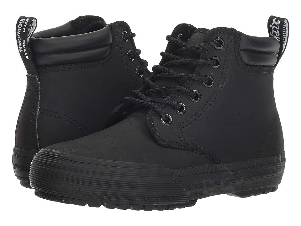 Dr. Martens Eason (Black Greasy Lamper Vulc) Boots