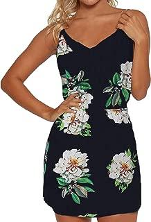 ZANZEA Womens Dresses Long Sleeve/Sleeveless Floral Casual Party Dress