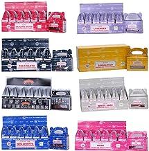 Satya Assorted Backflow Dhoop Cones 6 Boxes Total 144 Cones