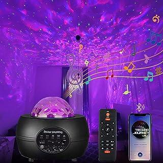 Sternenhimmel Projektor,15 Farben LED Sternenhimmel Projektor kinder Galaxy Projector,Sternenlicht Projektor mit Bluetooth...