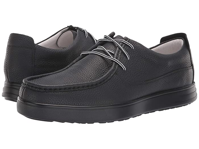 Alegria  MOQ (Black Tumbled) Mens Lace up casual Shoes