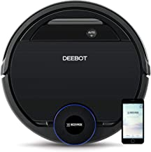 ECOVACS DEEBOT OZMO 930, Smart Robotic Vacuum, Carpet, Bare Floors, Pet Hair + Intelligent Mapping, OZMO Mopping Technology, Adaptive Floor Sensing Technology, with Alexa (Renewed)