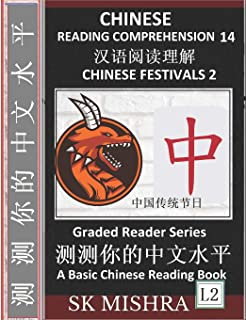 Chinese Reading Comprehension 14: Chinese Festivals 2, Mandarin Test Series, Easy Lessons, Questions, Answers, Teach Yours...