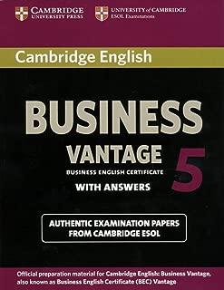 Best cambridge bec vantage 5 Reviews
