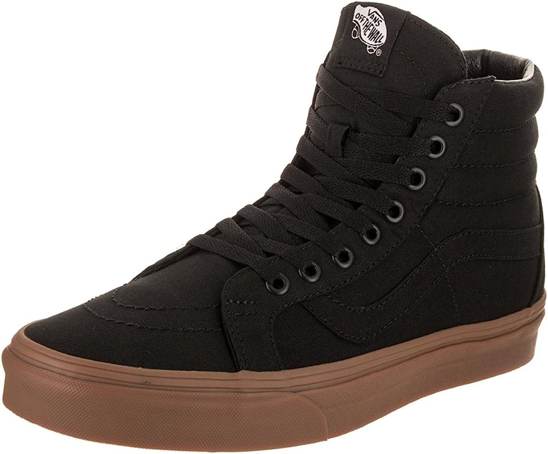 Vans SK8 Hi Reissue toile noir lumière Gum Unisex chaussures Hommes femmes