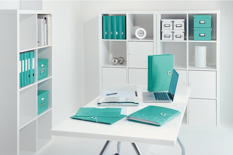 46360062 Leitz Organiser File Elastic Band Fastener Purple WOW Range