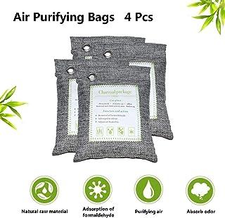Bolsas purificadoras de aire, bolsas de carbón de bambú activado ...