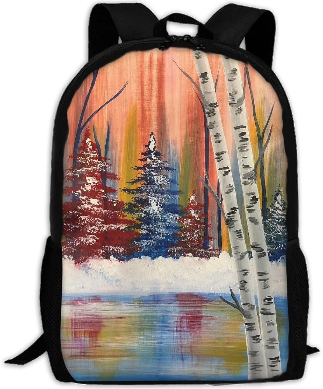 Luggage Sports & Outdoor Backpacks DEZIRO Factory Night school bag for men Travel bag