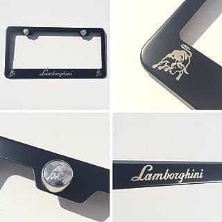 Best lamborghini license plate frame Reviews