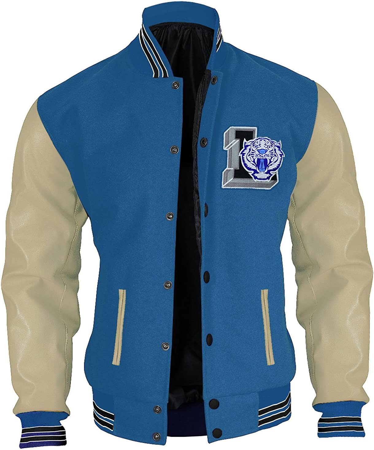 LP-FACON Max 72% OFF Men 13 Why Shipping included College Tigers Liberty Letterman High School