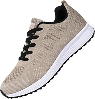 Men's Breathable Fashion Walking Sneakers Lightweight Athletic Tennis Running Shoes US6.5-11.5