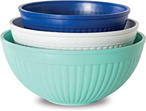 Nordic Ware 69600 Meal Trays Set of 3 Coastal Colors 69503