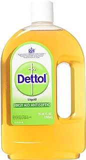 Dettol Original First Aid Antiseptic Liquid 25.35 oz (Pack of 3)