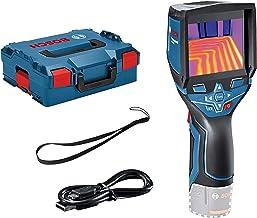Bosch Professional Sistema 12V Cámara térmica GTC 400 C (sin batería ni cargador, con conectividad, medición -10 °C hasta +400 °C, resolución: 160 x 120px, en L-BOXX)