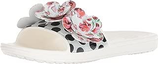 Crocs Women's Sloane Timeless Roses Slide Sandal