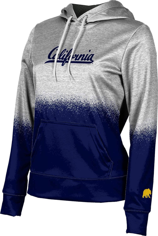 ProSphere University of California, Berkeley Girls' Pullover Hoodie, School Spirit Sweatshirt (Spray Over)