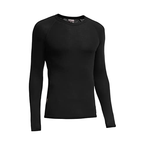 05006a8b12 Icebreaker Merino Men's Everyday Base Layer Long Sleeve Crew Neck Shirt,  Merino Wool
