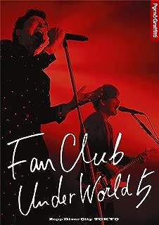 FANCLUB UNDERWORLD 5 Live in Zepp DiverCity 2016 [Blu-ray]