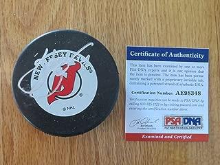 HOFer Scott Stevens Autographed Signed Memorabilia 94-95 New Jersey Devils Stanley Cup Puck PSA/DNA Ae98348