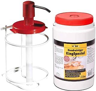 WILPEG'KingSpezial' Handreiniger Handwaschmittel Handwaschpaste inkl. Spendersystem 3L