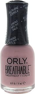 Orly Breathable Nail Color, Sheer Luck, 0.6 Fluid Ounce