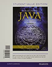 Intro to Java Programming, Comprehensive Version, Student Value Edition (10th Edition)
