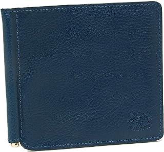 [イルビゾンテ]折財布 マネークリップ メンズ IL BISONTE C0471P 866 ネイビー [並行輸入品]