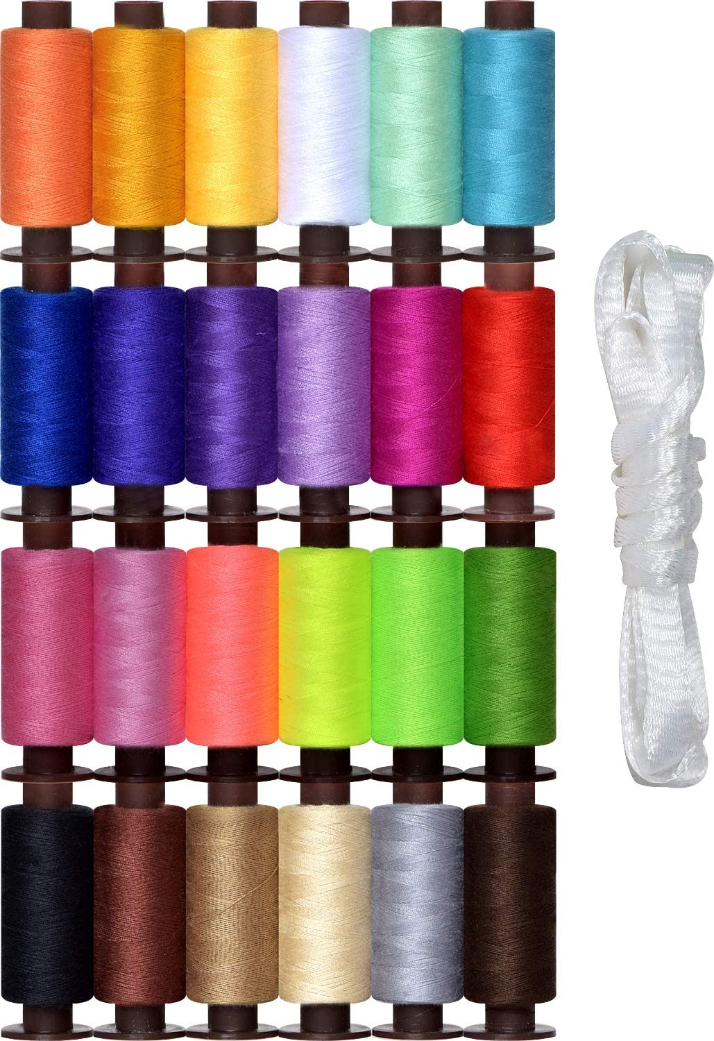 Sewing sold out Thread -24 Colors- kit -9600 Yards famous