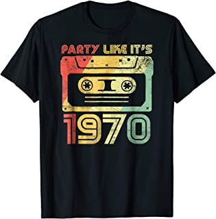 Party Like It's 1970 Retro 70s Party Outfit Costume Tee