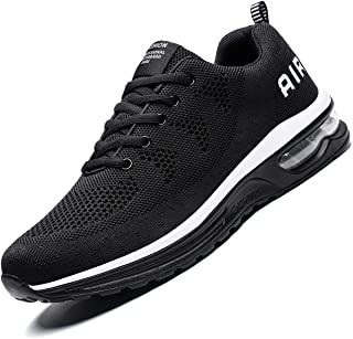 Chopben Men's Walking Shoes Casual Air Cushion Sneakers - Athletic Running Non-Slip Lightweight Breathable Outdoor Fashion Sneaker
