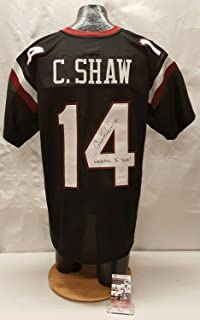 Connor Shaw Autographed Signed Usc Gamecocks Football Jersey JSA Cc75835