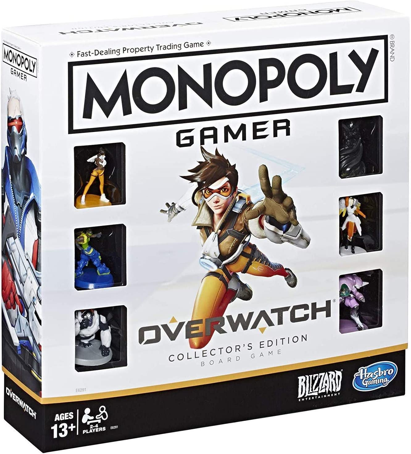 19. Monopoly Gamer Overwatch Collector's Edition Board Game