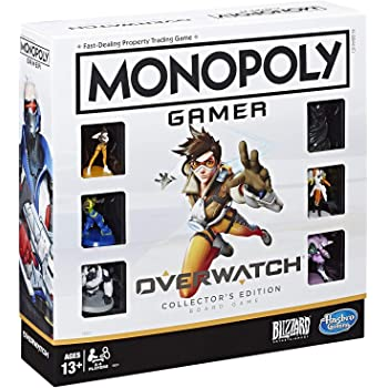 Hasbro Gaming Juego de Mesa Monopoly Overwatch Board Game
