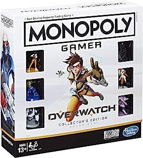 لعبة مونوبولي اصدار اوفر واتش القابلة للتجميع لعبة لوحية لاعمار 13 عاما وما فوق للاعبي اوفر واتش