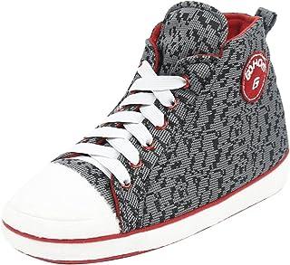 805af96e56ea Gohom Slipper Boots for Men Warm Winter Cozy Indoor Sneakers Slipper House  Booties